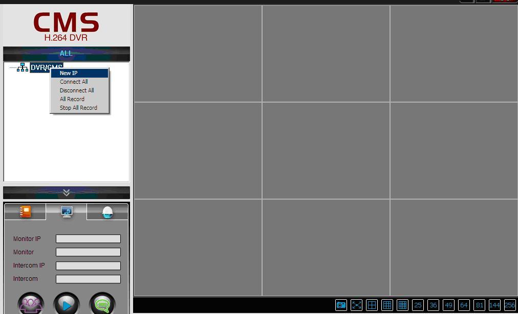 Hướng dẫn sử dụng phần mềm CMS của đầu ghi ESCORT